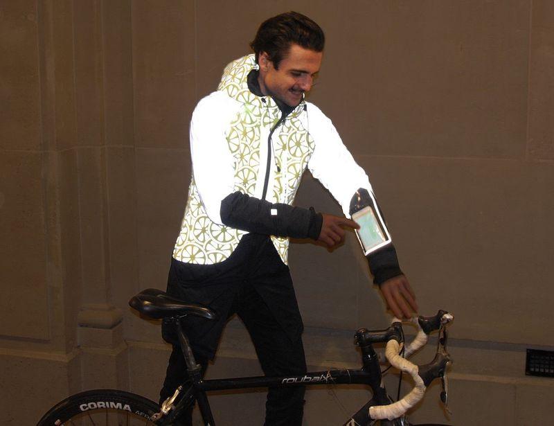 Vibrant Visibility Cyclist Jackets