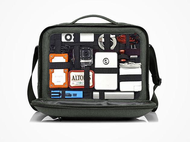 Compartmentaliezd Gadget Backpacks