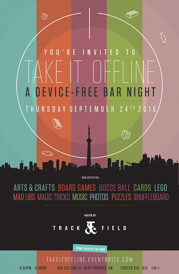 Device-Free Bar Nights