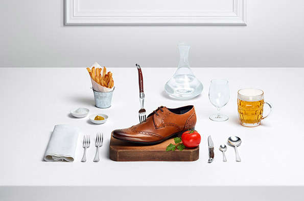Appetizing Footwear Ads