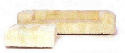 Teddy Bear Sofa from Barbarella