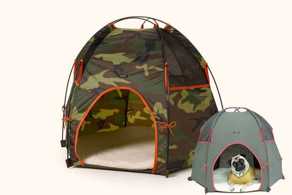 Camo Doggy Tents