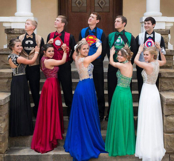 Coordinated Superhero Proms