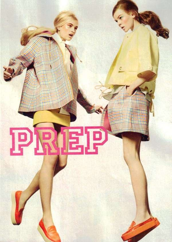 Teen Vogue 'Bold Prep' January 2012
