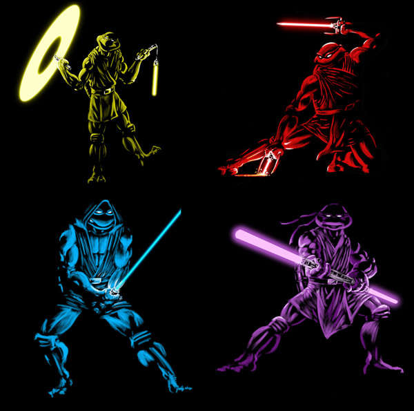 Teenage Mutant Jedi Turtles