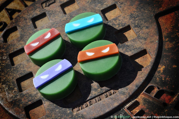 Teenage Mutant Ninja Turtles Soap