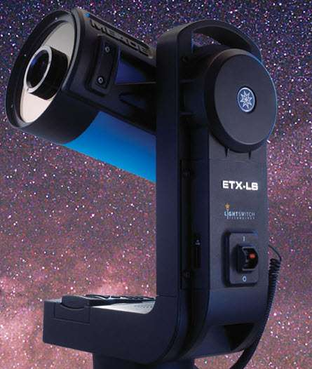 Star-Seeking Telescopes - The Meade ETX-LS Makes Astronomy Easy (ls star