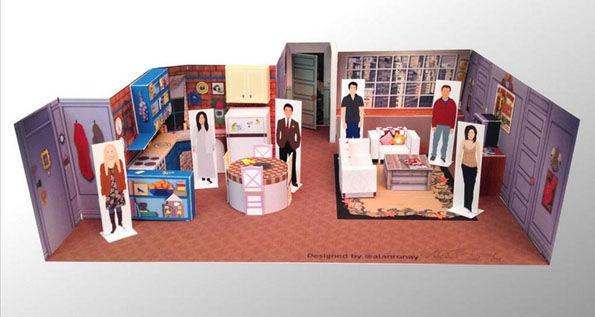 Diy Tv Set Dioramas Television Show Sets