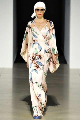 Sheer Flowing Fashions
