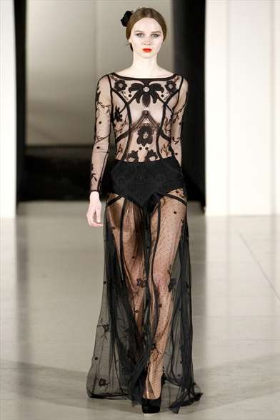 Temperley London Winter 2012