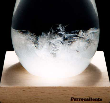 Temperature Forecasting Glass Decor