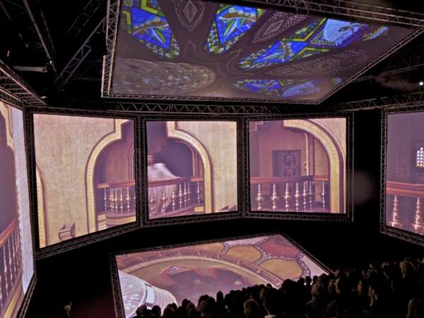 Rapper-Designed Theatres