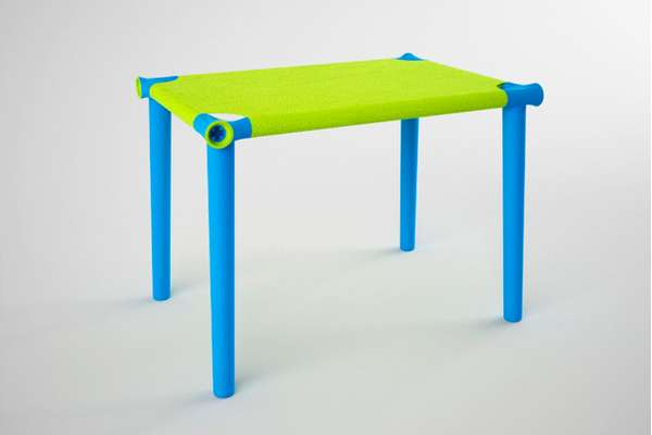 Stretched Textile Tabletops