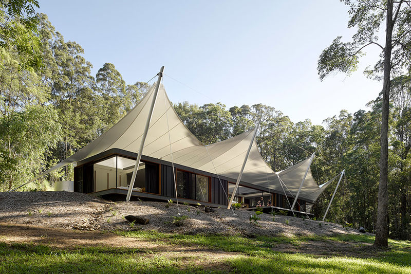 Canopy-Covered Coast Homes