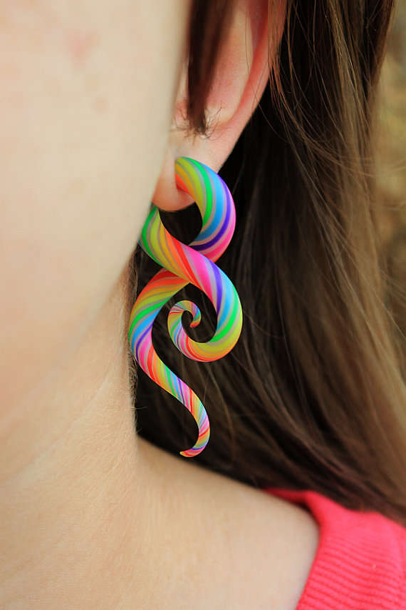 Tentacle Earrings