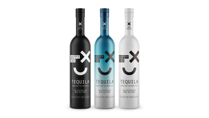Conceptual Emoticon Tequilas