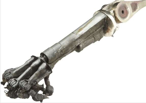 terminator arm prop goes up for auction