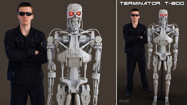 Life-Sized Robot Killers