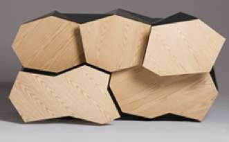 Abstract Tesselated Sideboards