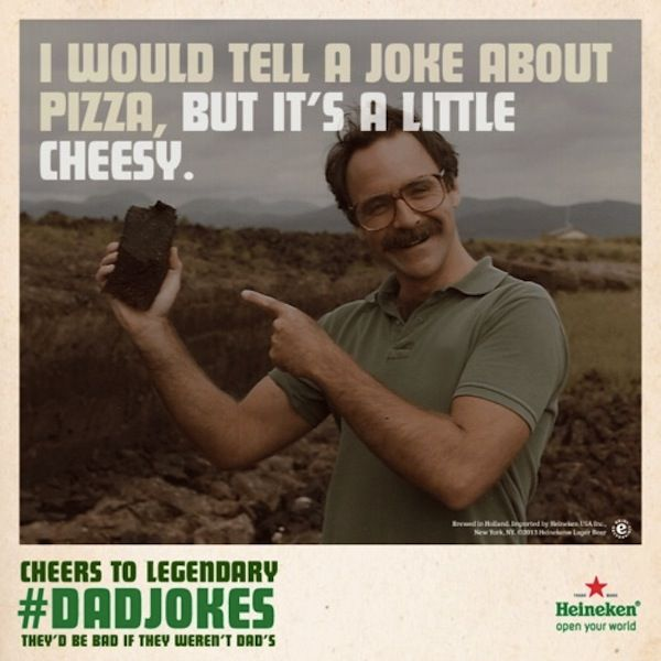 Cheesy One-Liner Ads