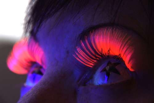 UV Eye Lashes