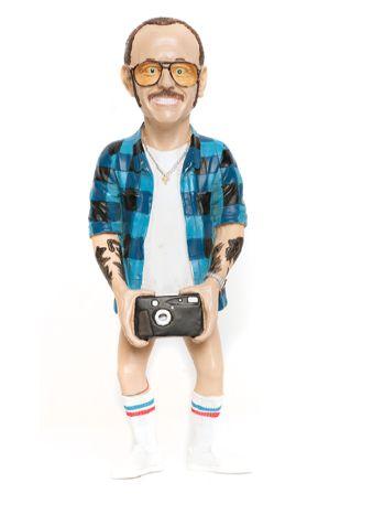 Creepy Photographer Figurines