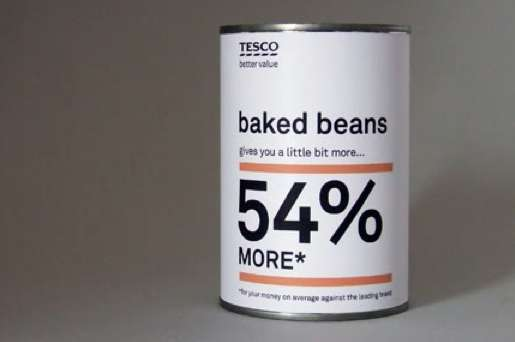 Tesco Value Packaging