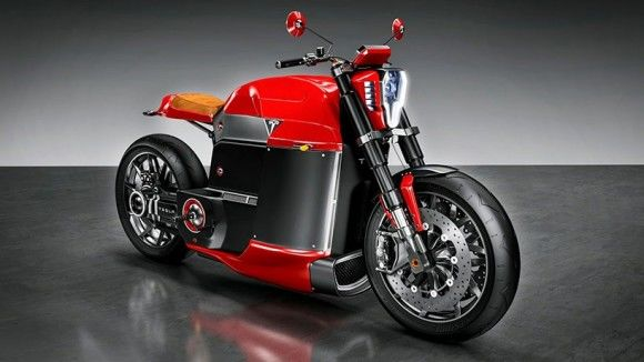 High-End Electric Motorcycles