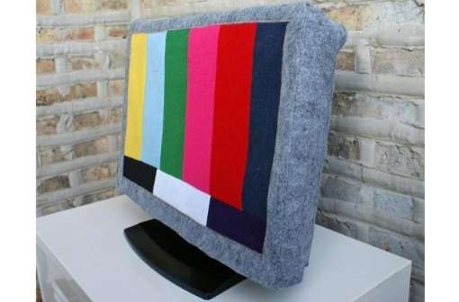 test pattern tv cover