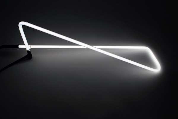 Geometric Neon Desk Lamps