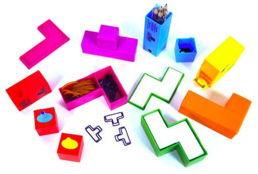 Tetris Desk Tidy Set