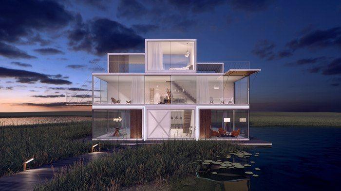 Modular Block Houses