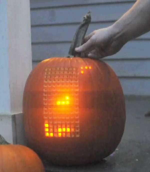 Retro Gaming Jack-O-Lanterns