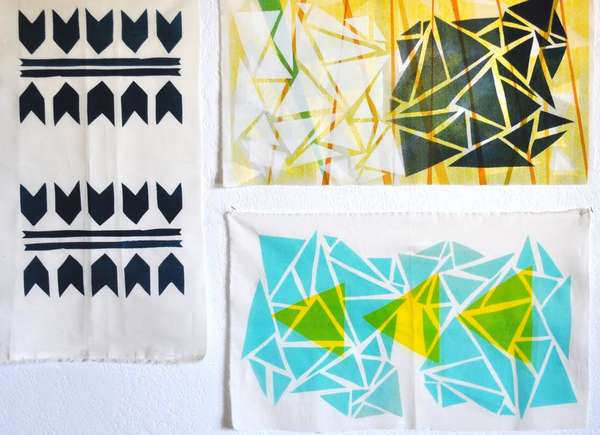 DIY Patterned Tapestry Crafts