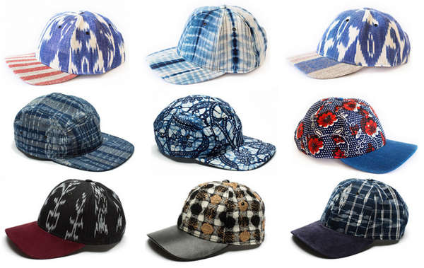 Patterned Textile Snapbacks