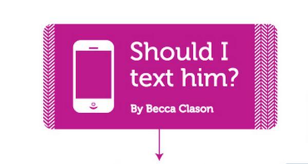 Romantic Texting Flowcharts