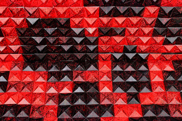 Origami Wallpaper Sculptures
