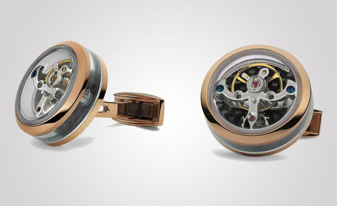 Luxe Tourbillon Cufflinks