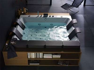 Luxury Bookworm Bathtubs