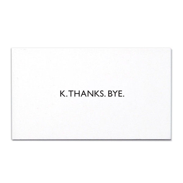 Succinct Thank You Cards