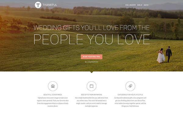 All-Encompassing Wedding Registries