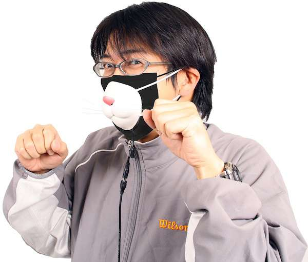 Thanko USB Kitty Mask