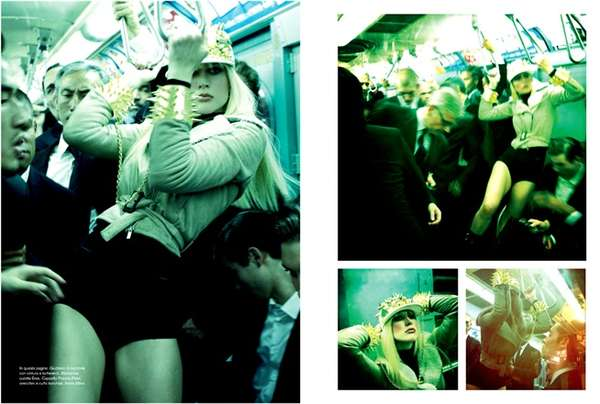 Stylish Subway Captures