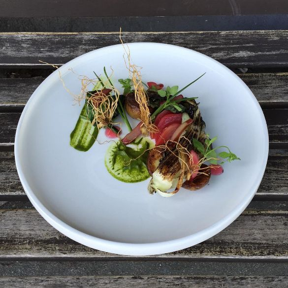 Leek Root Dishes