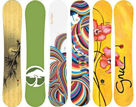Ultra Sustainable Snowboards