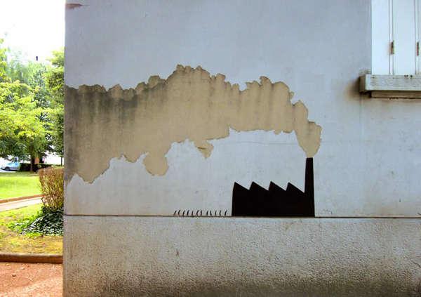 Cleverly Augmented Urban Graffiti