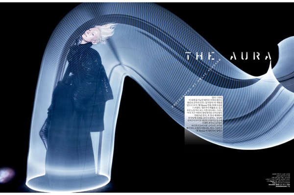 The aura by Tilda Swinton