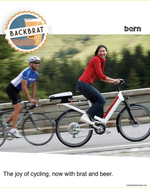Bicycle-Mounted BBQS