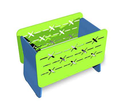 Barbed Wired Crib