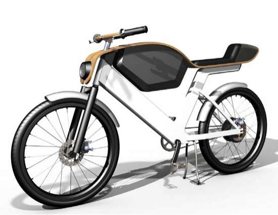 Sleek Electric Mopeds